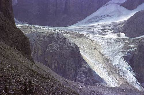 view from val venegia 1982