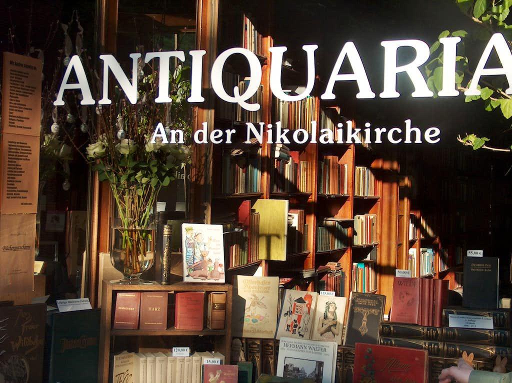 Leipzig bookshop