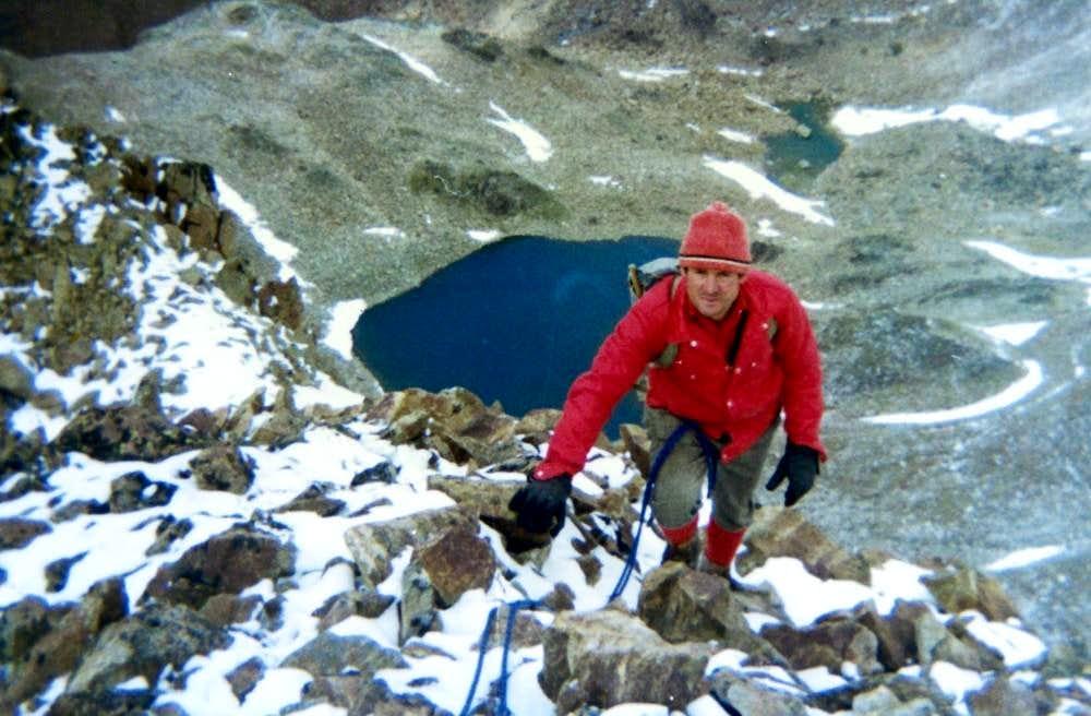 RED POINT of MOUNT EMILIUS (3400m)