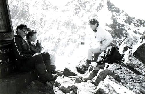 CARDELLINA's B&W on Nona's Becca Summit (3142m)