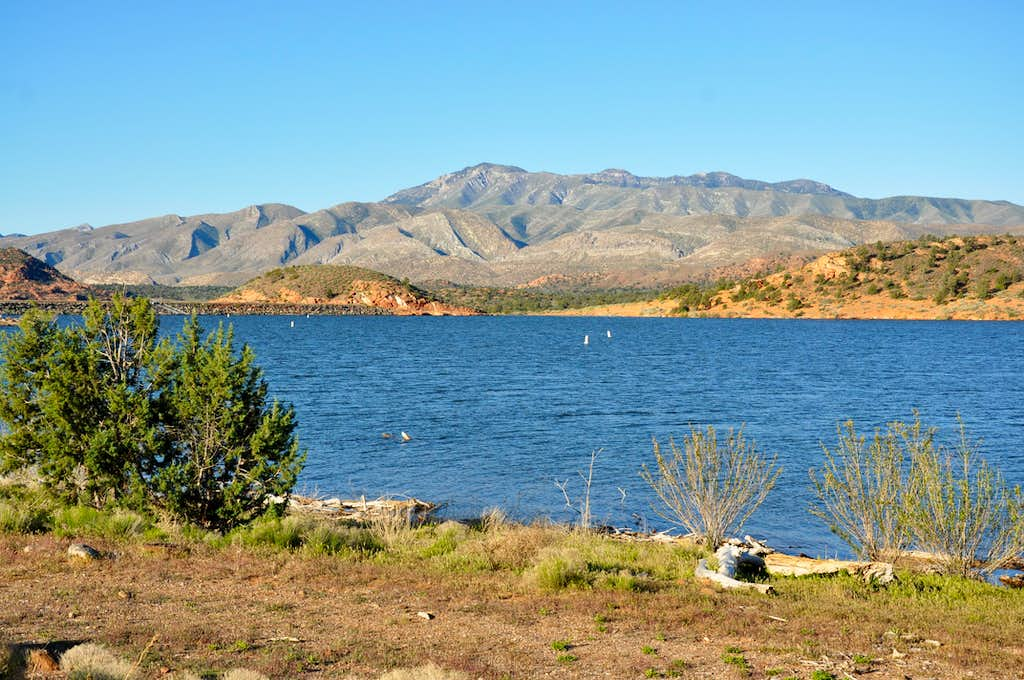 From Gunlock Reservoir