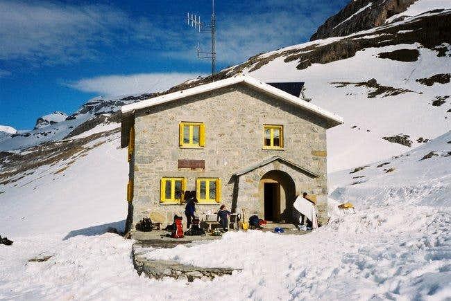 Refugio de Goriz. In the...