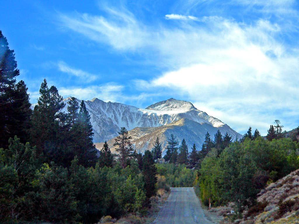 Mt. Morgan from the Rock Creek Road