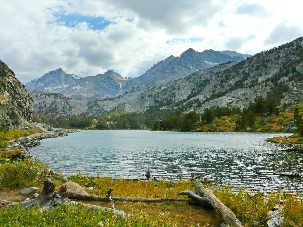 Long Lake from the Morgan Pass Trail
