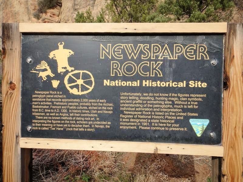 Newspaper Rock info