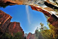 Emerald Pools_Early Fall Morning_October 2009