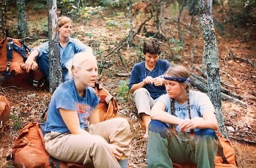 Backpacking in 1980