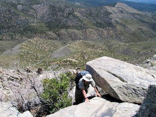 The last bit to the summit