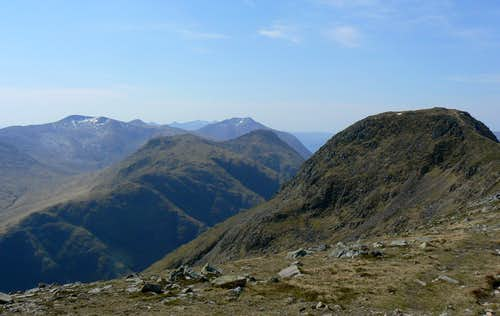 Stob na Broige & the Etive Hills
