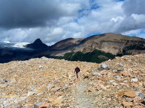 Iceline Trail - Isolated Peak and the Whaleback