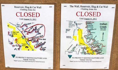 Closed walls