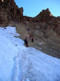 The Glacier Sella, at the...