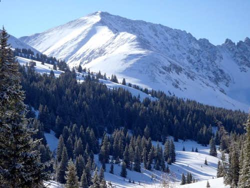 West Ridge in Spring: Sunshine, Snowpack and Sunburn