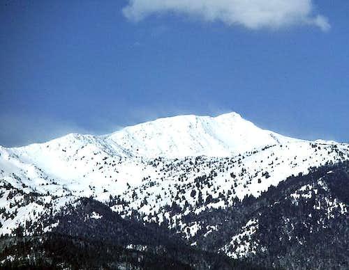 Elkhorn Peak from Baker City