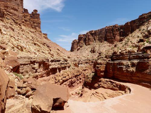 Soap Creek Canyon