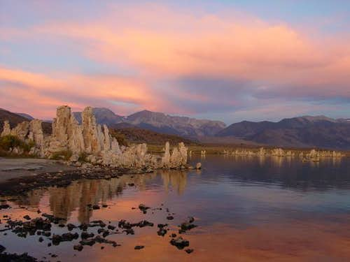 Mount Dana from Mono Lake