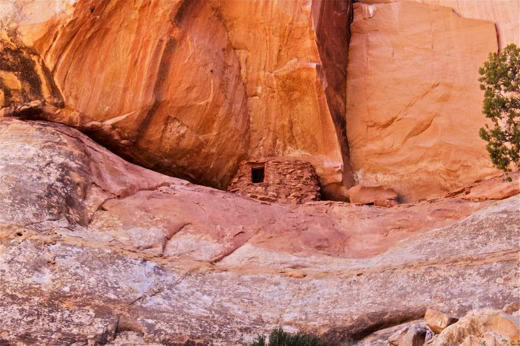 Anasazi ruin detail