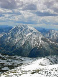 La Plata from the summit of...