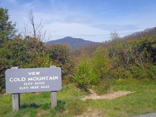 Cold Mountain from Blue Ridge Parkway