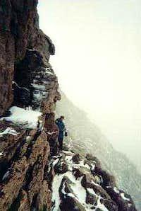 The Longs Peak Keyhole route...