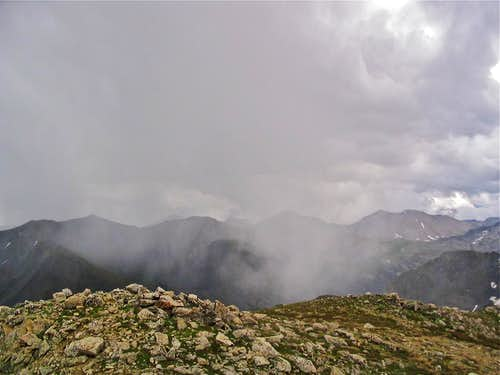 Rainy summit