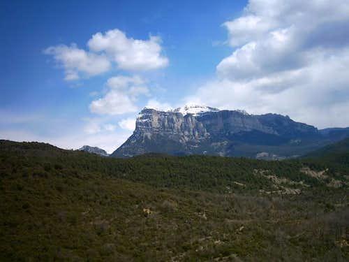 Peña Montañesa's West Face