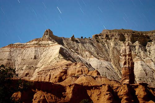 Kodachrome Basin by Moonlight