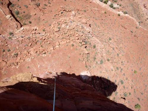Looking Down P2 (5.10d)