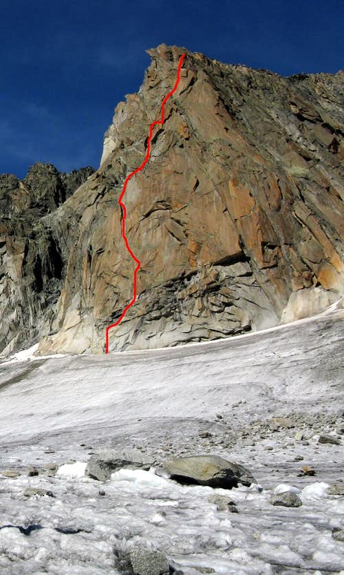 Gletschhorn Spur