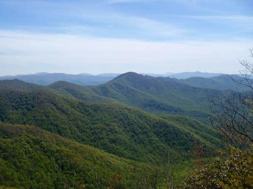 West from Ravenrock Ridge