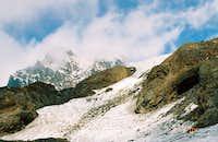 Start of Easton glacier...
