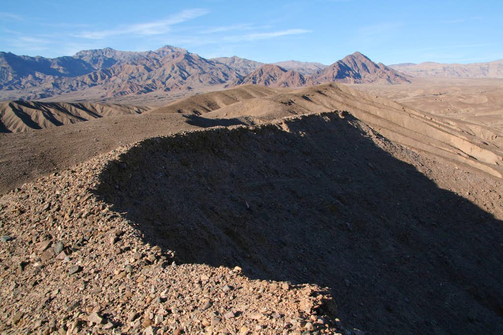 Corkscrew Peak and Death Valley Buttes