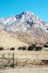 El Cajon Mountain