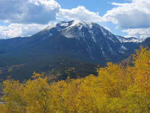 Buffalo Mountain from the...