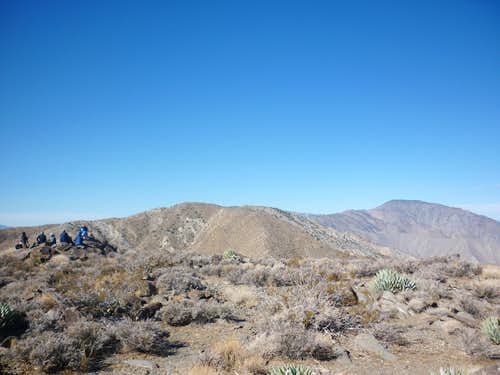 Rosa Point summit