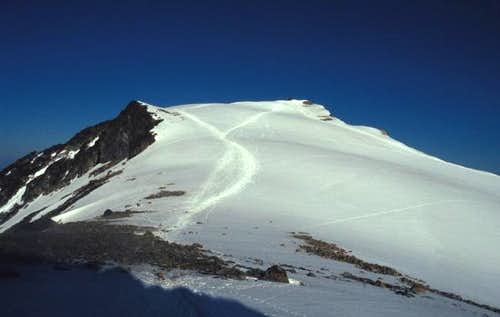 The summit from normal route