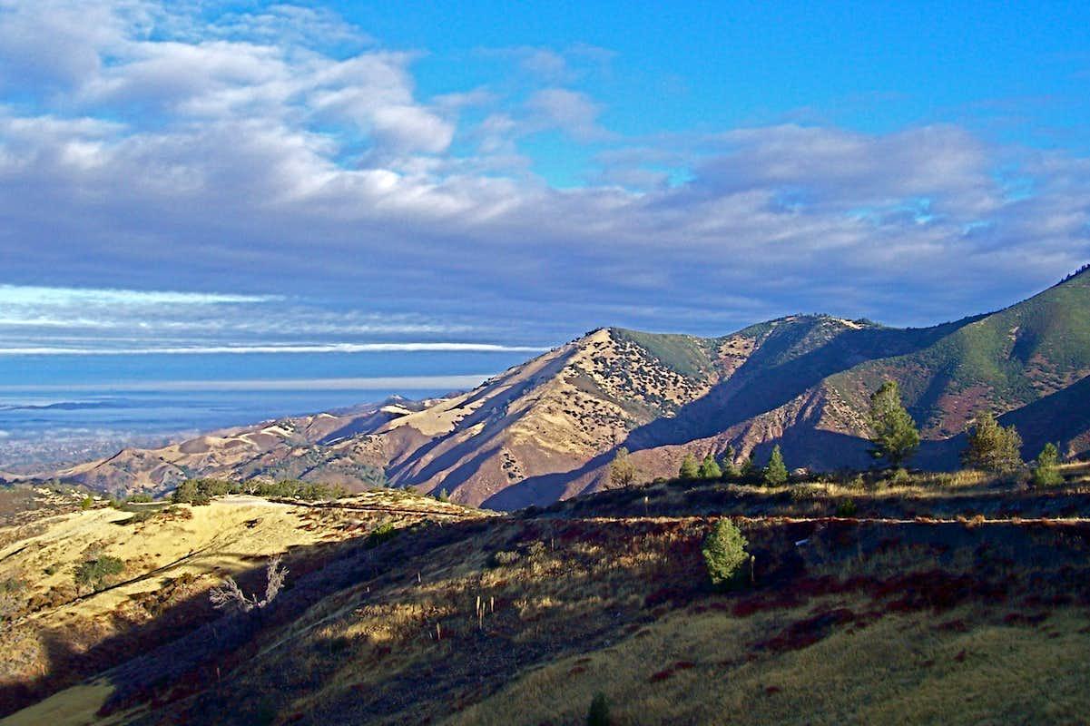 view from the top of figueroa mountain photos diagrams