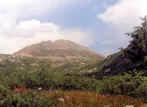 Geissler Mountain viewed from...