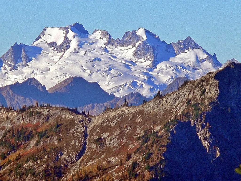 Dome Peak from the Pass