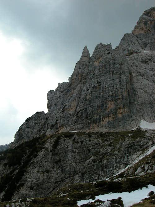 Ago di Villacco from Corsi hut