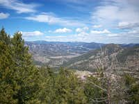 Estes Park from Emerald Mountain