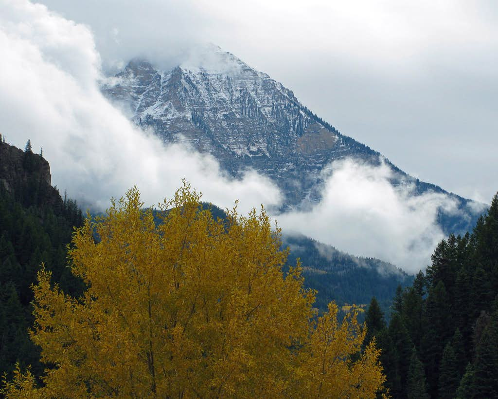 Fall colors under North Timp