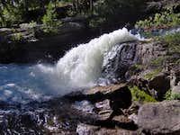 Churning Falls along the Ouzel Falls Trail