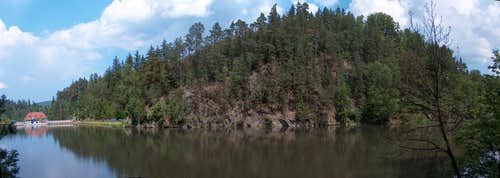 Jezioro Modre reservoir