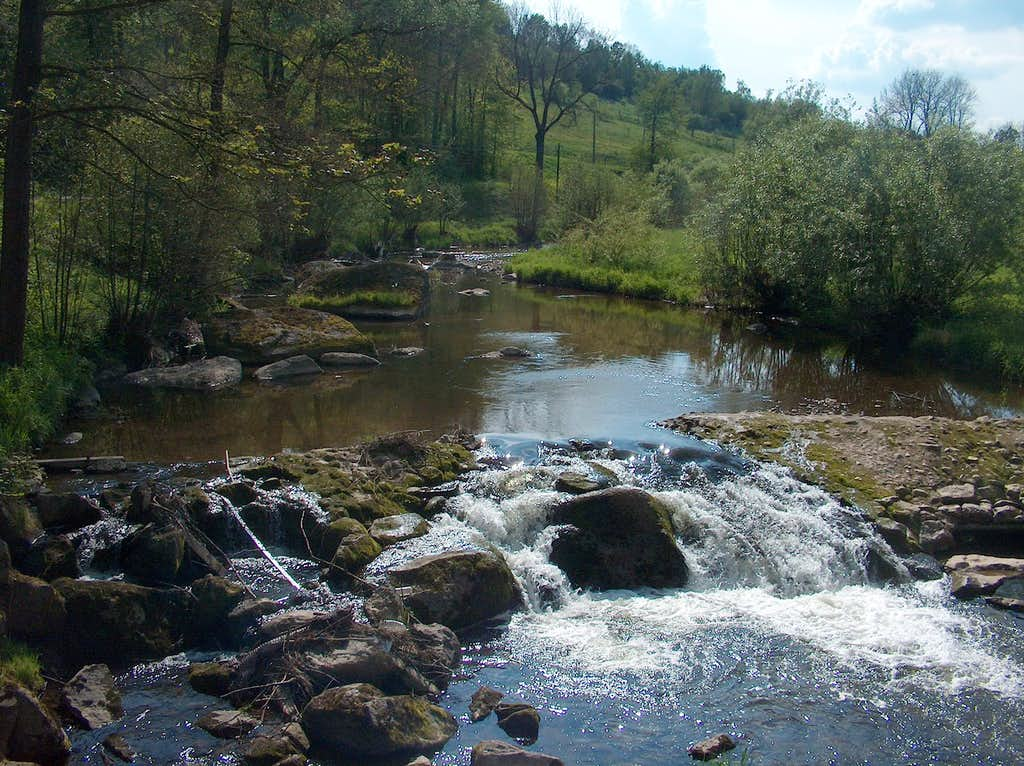 Tributary river near Stanek