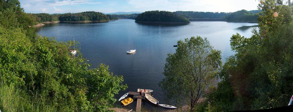 Jezioro Pilchowickie dam