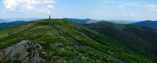 Panorama from Wielka Rawka