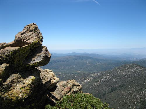 West from Apache Peak