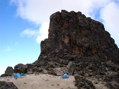 Lava Tower Camp