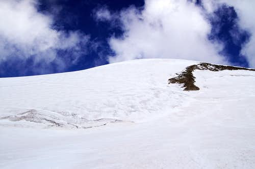 Breithorn south flank